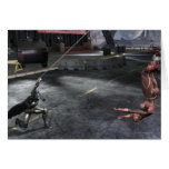 Screenshot: Batman vs Flash Greeting Card