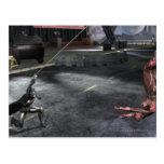 Screenshot: Batman vs Flash Postcard