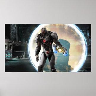 Screenshot: Cyborg 2 Print