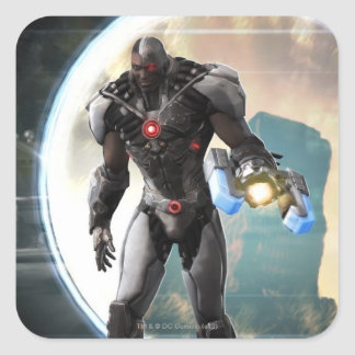 Screenshot: Cyborg 2 Square Sticker