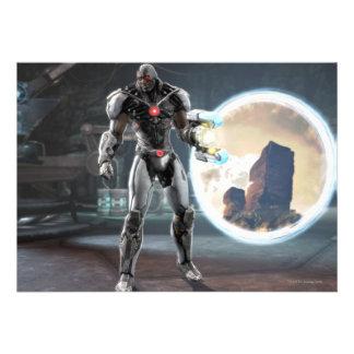 Screenshot: Cyborg 3 Personalized Invite