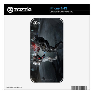 Screenshot: Cyborg vs Batman Decals For iPhone 4