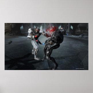 Screenshot: Cyborg vs Batman Poster