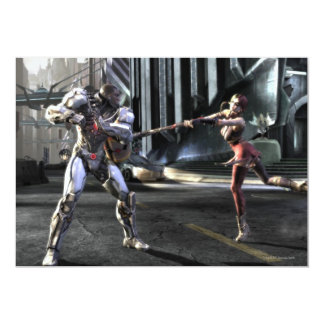 Screenshot: Cyborg vs Harley Card