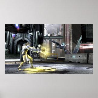 Screenshot: Cyborg vs Nightwing 2 Poster