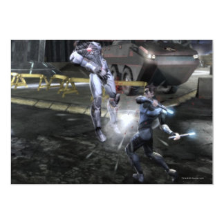 Screenshot: Cyborg vs Nightwing 3 Card