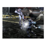 Screenshot: Cyborg vs Nightwing 3 Postcard
