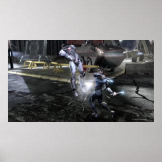 Screenshot: Cyborg vs Nightwing 3 Poster