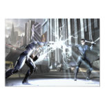 Screenshot: Cyborg vs Nightwing 4 5x7 Paper Invitation Card