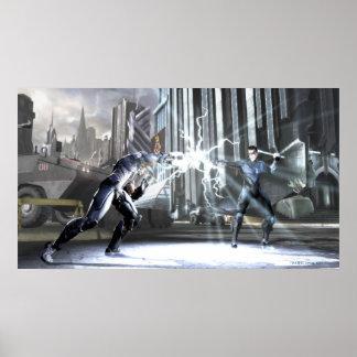 Screenshot: Cyborg vs Nightwing 4 Poster