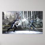 Screenshot: Cyborg vs Nightwing 4 Print