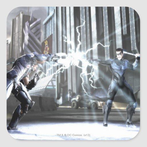 Screenshot: Cyborg vs Nightwing 4 Sticker