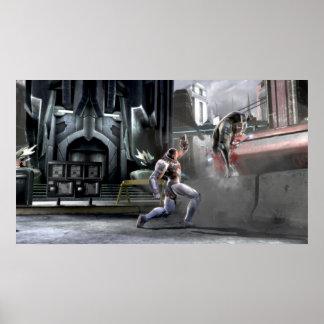 Screenshot: Cyborg vs Nightwing Poster