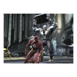 Screenshot: Flash vs Grundy Invitations