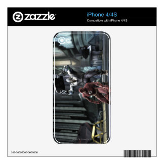 Screenshot: Flash vs Grundy iPhone 4 Decal