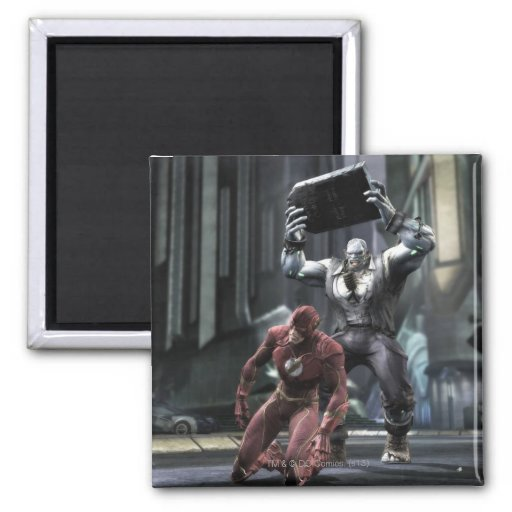 Screenshot: Flash vs Grundy Magnet