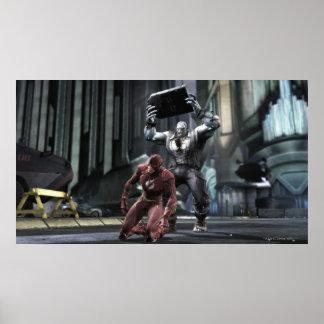 Screenshot: Flash vs Grundy Posters