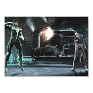 Screenshot: Green Lantern vs Joker Card