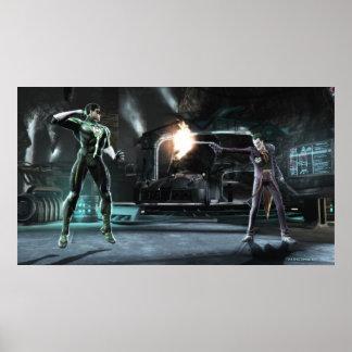 Screenshot: Green Lantern vs Joker Poster