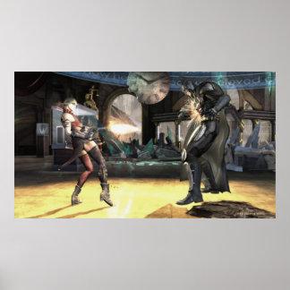 Screenshot: Harley vs Batman 2 Print