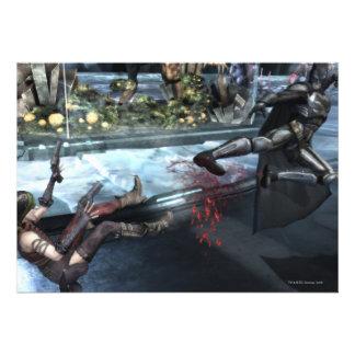 Screenshot: Harley vs Batman Invitations