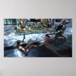 Screenshot: Harley vs Batman Poster