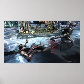 Screenshot: Harley vs Batman Print