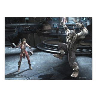 Screenshot: Harley vs Grundy Card