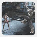 Screenshot: Harley vs Grundy Square Sticker
