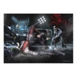 Screenshot: Harley vs Nightwing 2 5x7 Paper Invitation Card