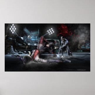 Screenshot: Harley vs Nightwing 2 Poster