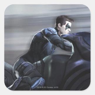 Screenshot: Nightwing 2 Square Sticker
