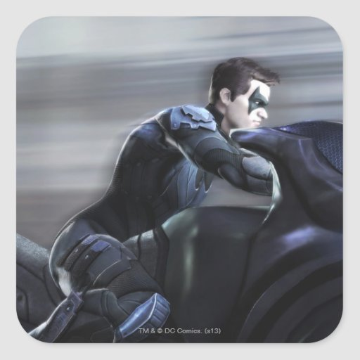 Screenshot: Nightwing 2 Square Stickers