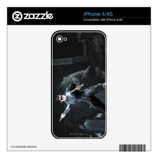 Screenshot: Nightwing Decal For iPhone 4
