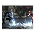 Screenshot: Nightwing vs Flash Post Cards