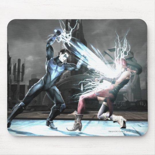 Screenshot: Nightwing vs harley Mouse Pad