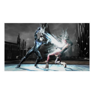 Screenshot: Nightwing vs harley Posters