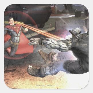 Screenshot: Superman vs Batman 2 Square Sticker