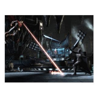 Screenshot: Superman vs Batman Postcard
