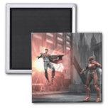 Screenshot: Superman vs Flash 2 Inch Square Magnet