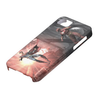 Screenshot: Superman vs Flash iPhone SE/5/5s Case