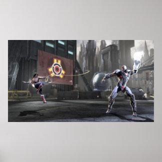 Screenshot: Wonder Woman vs Cyborg 2 Poster