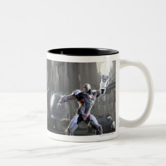 Screenshot: Wonder Woman vs Cyborg 2 Two-Tone Coffee Mug