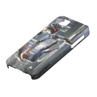 Screenshot: Wonder Woman vs Cyborg iPhone SE/5/5s Case