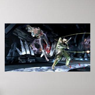 Screenshot: Wonder Woman vs Green Arrow Poster
