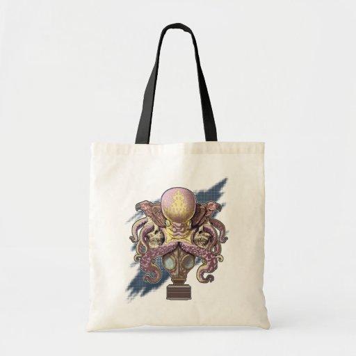 Screentone Octo Budget Tote Bag