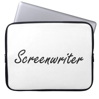 Screenwriter Artistic Job Design Laptop Computer Sleeve