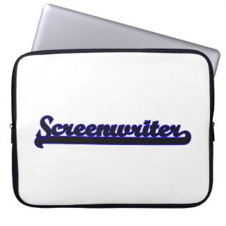 Screenwriter Classic Job Design Laptop Computer Sleeve