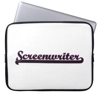 Screenwriter Classic Job Design Laptop Computer Sleeves