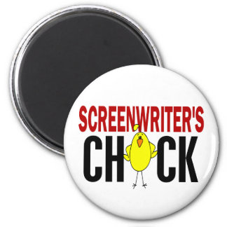 Screenwriter s Chick Fridge Magnet